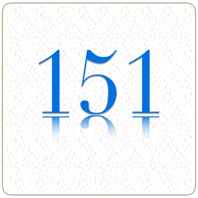 Number 151 Meaning