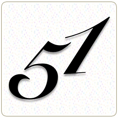 Number 51 Meaning