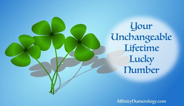 Unchangeable Lifetime Best Lucky Number