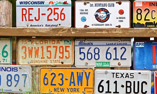 Vehicle License Plate Number Tool